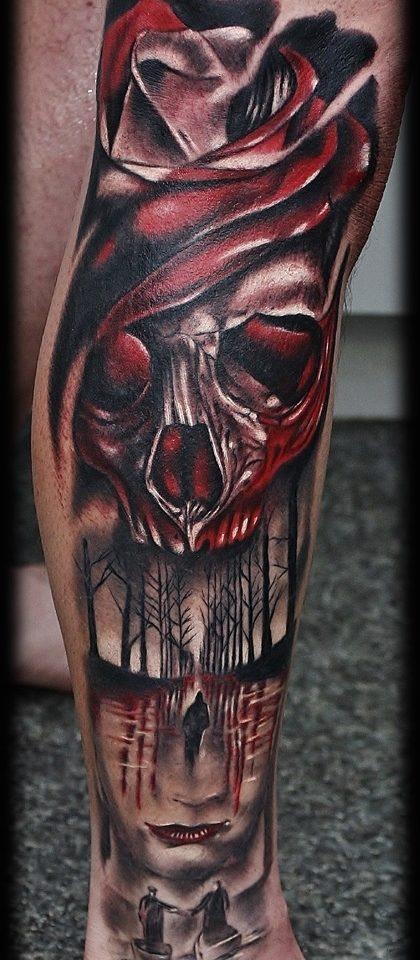 lysytattoo. skull