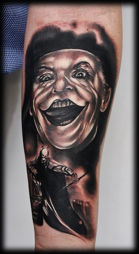 lysytattoo.pl joker batman