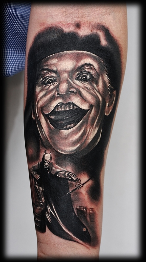 lysytattoo.pl joker batman